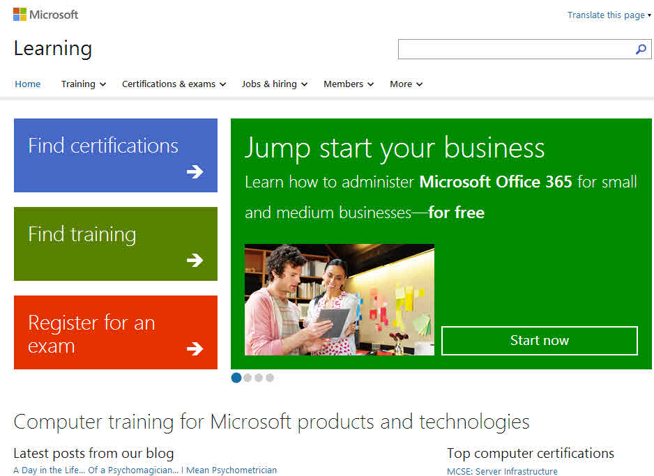 Self Training 101 How To Get Started And Keep Going Technet Uk