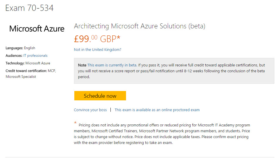 Roll Up Roll Up Get Your Free Microsoft Azure Beta Exam Code Here