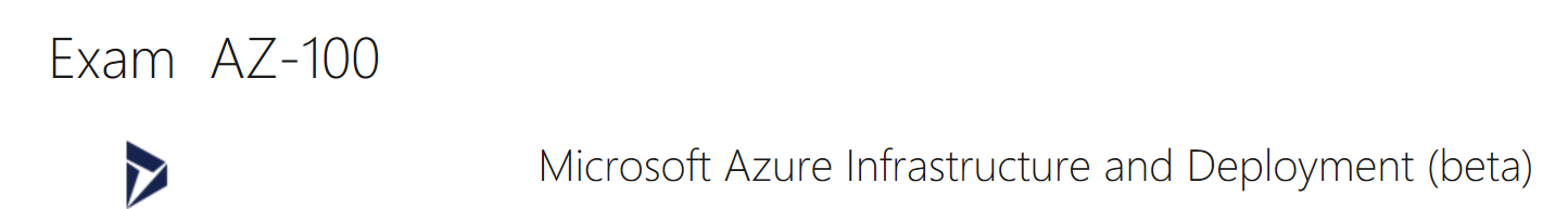 Azure 100 Certification